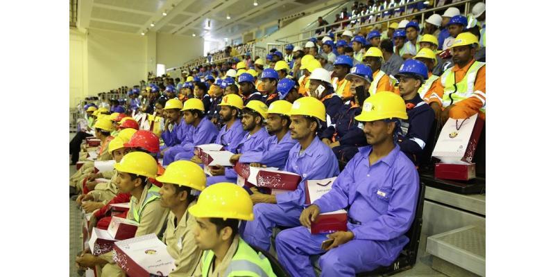 بالصور.. وزارة التنمية الإدارية والعمل تحتفل باليوم ...
