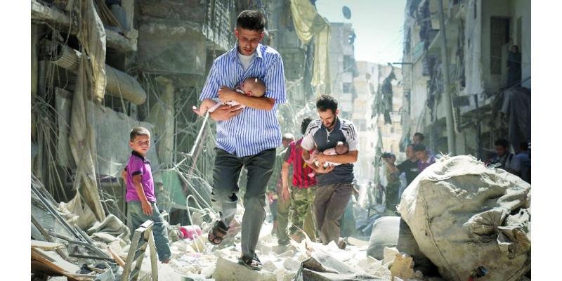 الأمم المتحدة تطالب بوقف إطلاق النار في سوريا