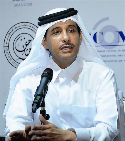 نائب متاحف قطر يزور معسكر دوحة البركل بالسودان