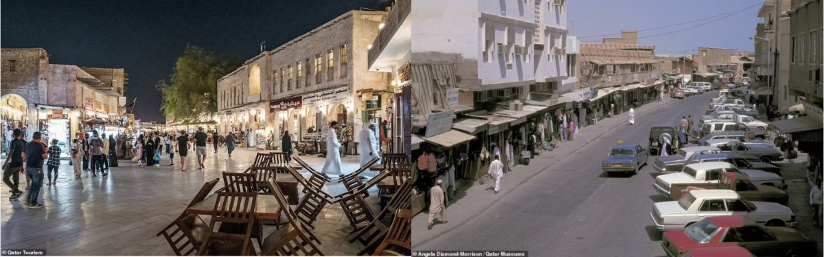 Doha; jaw-dropping transformation over the past 50 years: Daily Mail